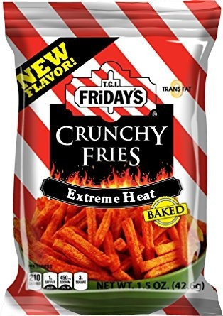 T.G.I. Friday's Crunchy Fries Extreme Heat