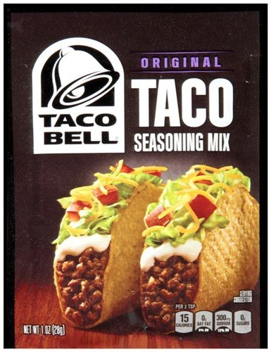 Taco Bell Taco Seasoning Mix
