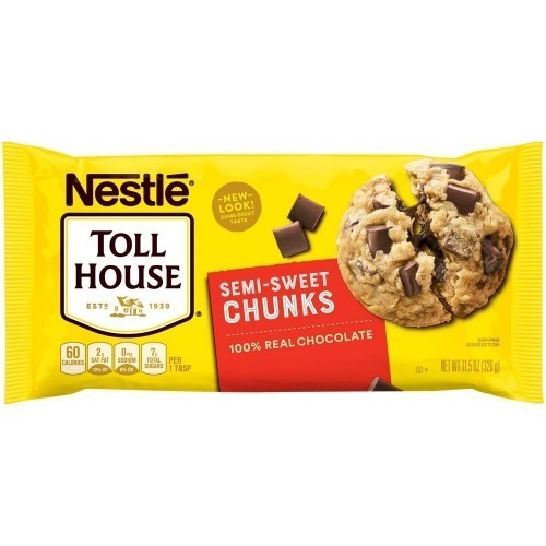 Toll House Semi Sweet Chocolate Chunks 326g