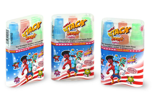 Tripple Attack Spray Candy