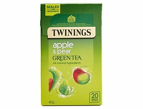 Twinings Apple & Pear Green Tea 20 Bags