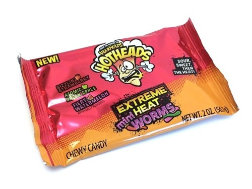 Warheads Mini Extreme Heat Worms