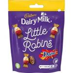 Cadbury Dairy Milk Daim Little Robins Bag 88g