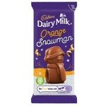 Cadbury Dairy Milk Orange Mousse Snowman Chocolate 30g
