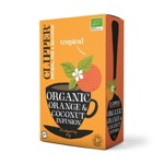 Clipperc Organic Orange & Coconut Tea 20 Bags