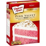 Duncan Hines Deliciously Moist Pink Velvet Cake Mix