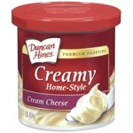 Duncan Hines Whipped Cream Cheese Frosting