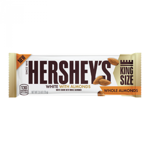 Hershey's White Crème w/ Whole Almonds King Size Bar 73g