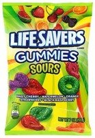 Life Savers Sours Gummies 198g