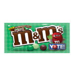 M&M's Crunchy Mint Limited Edition