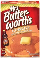 Mrs. Butter Worth's Complete Pancake Mix 907g