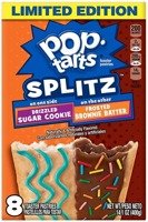 Pop Tarts Splitz Sugar Cookie/Brownie Batter