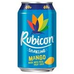 Rubicon Sparkling Mango Soft Drink 330ml