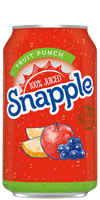 Snapple 100% Juiced Fruit Punch