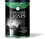 Yorkshire Crisps Roast Lamb & Mint 100G